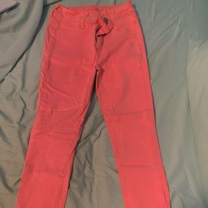 American Eagle Neon pink capris